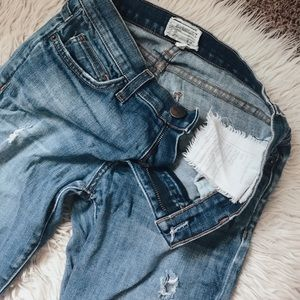 Ripped Current Elliott Jeans